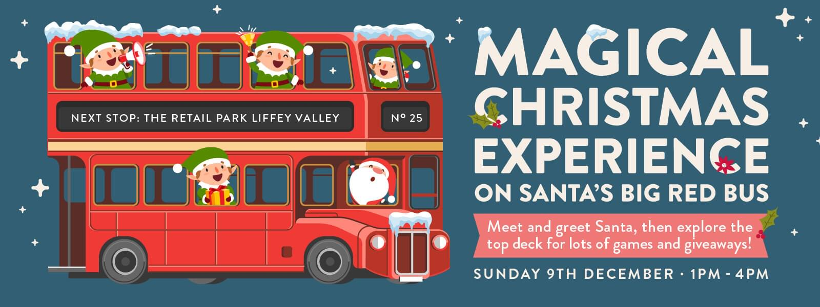Magical Christmas Experience on Santa's Big Red Bus